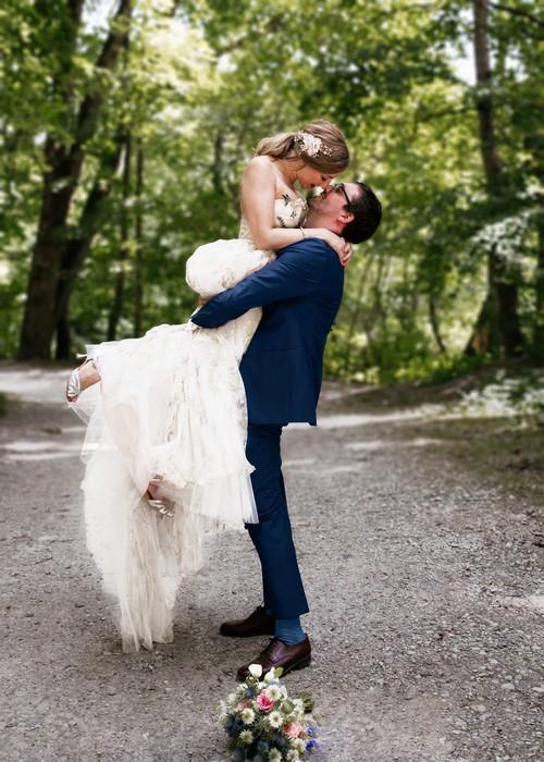 Hochzeit an der Isar in München von Hochzeitsfotograf Rosenheim